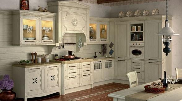 "Кухня ""Флореале кремона"""