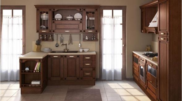 """Кухня """"Флореале тик"""""""